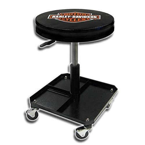 Plasticolor Harley Davidson Bar U0026 Shield Shop Stool Swivel U0026 Adjusted Seat  Height P4766