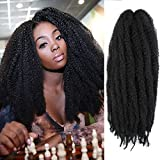 AMELI Marley Hair Marley Braiding Hair for Twists Synthetic Fiber...