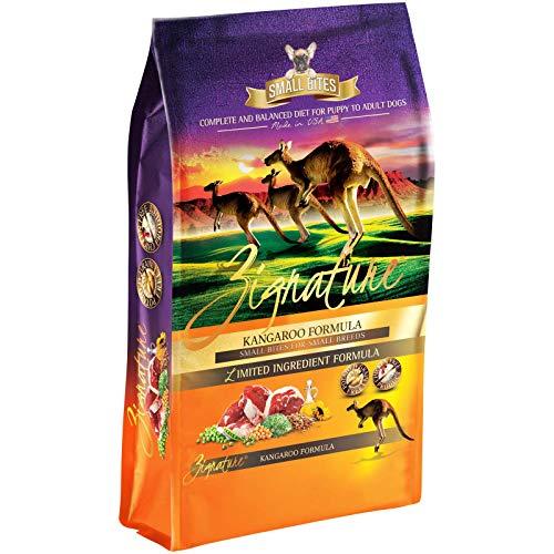 Zignature Kangaroo Formula Grain-Free Small Bites Dry Dog Food 12.5lb