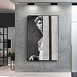 YuanMinglu Lienzo en la Pared Escultura Moderna Pintura de Arte nórdico póster de Arte Pop y en la Pared de la Escultura Pintura sin marco30x40cm