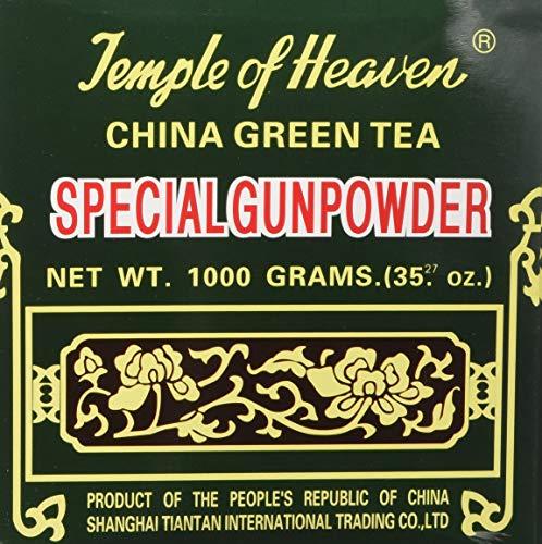 China Green Tea Special Gunpowder 1 Kilo (1000grams or 35.27 Oz) Guaranteed Authenticity - PACK OF 2