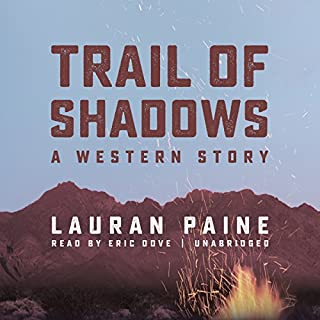 Trail of Shadows audiobook cover art