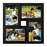 SONGMICS Collage Picture Frames, for Four 4 x 6 Inches Photos, Photo...
