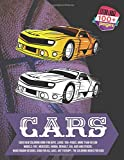 Cars New Coloring Book for boys. Large 100+ pages. More than 50 car models: Fiat, Mercedes, Honda, Renault, KIA, Audi and others. Hand Drawn Designs. ... Art Therapy. The Coloring Books for kids