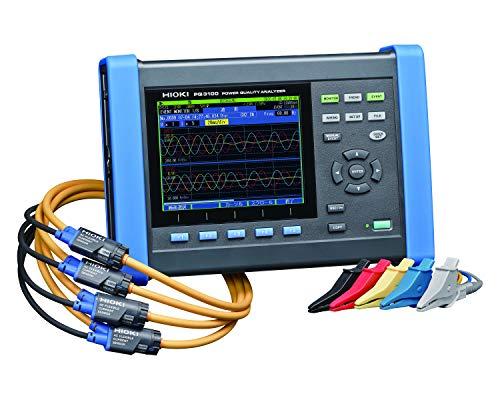 HIOKI (日置電機) 電源品質アナライザ PQ3100 電源の実態調査 保守管理 予防保全 高調波 瞬停 サージ電源 トラブル解析用PQA