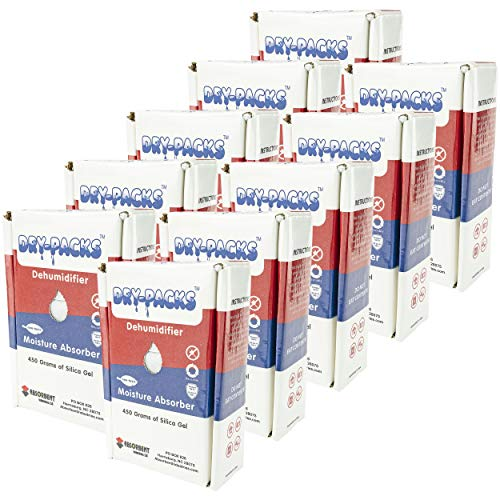 Great Features Of Dry-Packs 450gm Dehumidifying Box, Pack of 10