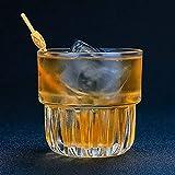 Taza De Café, Copa De Champán, Taza Copa De Cóctel Clásica Copa De Vino De Whisky Del Norte De Europa Restaurante Bar Licor Whisky Ron Brandy Bebidas De Agua Vaso, 220 Ml