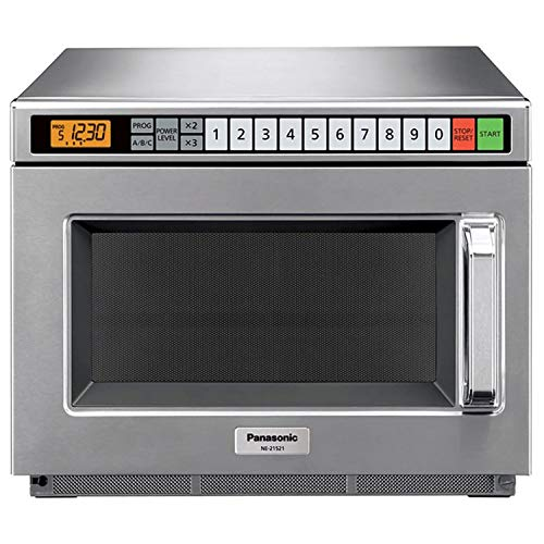 Panasonic NE-21521  - Commercial Microwave Oven, 0.6 Cu. Ft, 2100 Watts