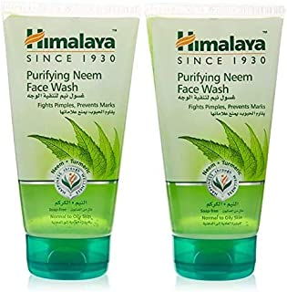 Himalaya Face Wash Purifying Neem, 2 x 150 ml, Pack of 1 HIM-18001178-0