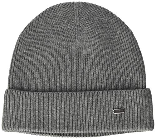 Strellson Premium Herren Larry-Cap Winter-Hut, Medium Grey 032, One Size