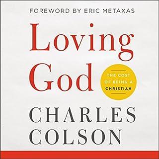 Loving God audiobook cover art