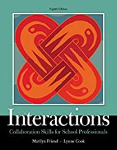 Interactions: Collaboration Skills for School Professionals (What's New in Special Education)