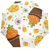 Halloween Día de Acción de Gracias Calabaza Azúcar Caramelo Ojos Otoño...