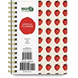 2021 Annual Planner by Bright Day, Yearly Monthly Weekly Daily Spiral Bound Dated