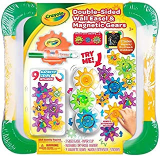 Crayola Wall Easel and Magnetic Gears, CY5080-04