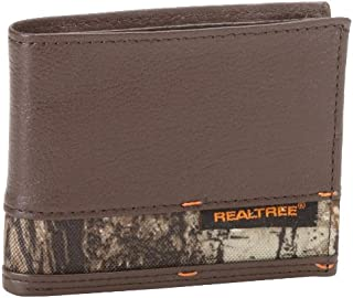Men's Real Tree Bifold Wallet with Camo Insert