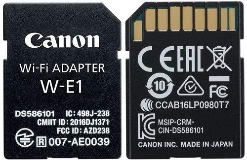 Canon『Wi-Fiアダプター(W-E1)』