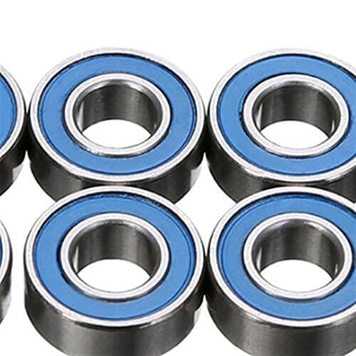 MPWPQ MR115RS Bearing 20/50PCS 5x11x4 mm ABEC-1 Hobby Electric RC MR115 RS 2RS Ball Bearings MR115-2RS (Diameter : 20PCS, Length : Black)