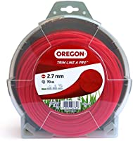 Oregon 69-350-Y Yellow Round Strimmer Line/Wire for Grass Trimmers and Brushcutters