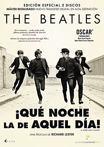 The Beatles: ¡Qué Noche La De Aquel Día! [DVD]