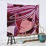 TUCBOA Wall Tapestry,Tapiz De Pared De Anime Rosario + Vampire Moka, Tapices De Pared Encantadores para La Decoración De La Sala De Estar del Hogar,150x150cm