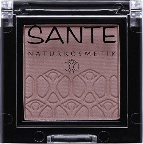 Sante Natuurcosmetica Mono Shade Oogschaduw, veganistisch, biologische extracten, natuurlijke make-up (2 g) 2 04 Brownish taupe - bruin