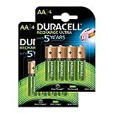 Duracell Recharge Ultra AA Mignon Akku Batterien LR6 2500 mAh