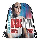Mochila con cordón básico Instinct ligero clásico personalizado bolsa de deporte mochila