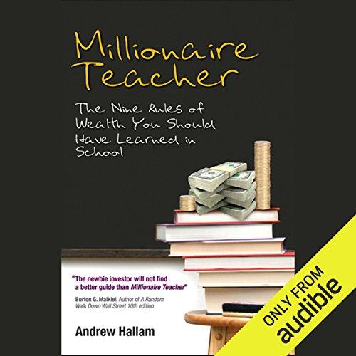 Millionaire Teacher audiobook cover art