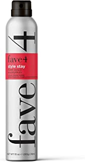 fave4 hair Style Stay Hairspray for Firm Hold, Long Wear Styles, Protect Against Hair Damage, 10 oz