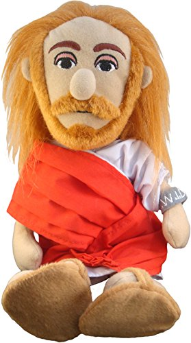 "The Unemployed Philosophers Guild Jesus Christ Little Thinker - 11"" Plush Doll"