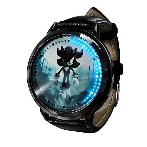 Uhr Sonic The Hedgehog Uhr Led Touchscreen Wasserdicht Digitallicht Uhr Armbanduhr Unisex Cosplay Geschenk Neue Armbanduhren Kinder-A1