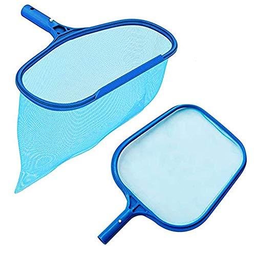 Rongbo Deep-Bag Pool Rake & Swimming Leaf Skimmer Net with Medium Fine Mesh,Fits Most Standard Pole...