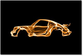 Porsche 911 Turbo by Octavian Mielu, 30x47-Inch Canvas Wall Art