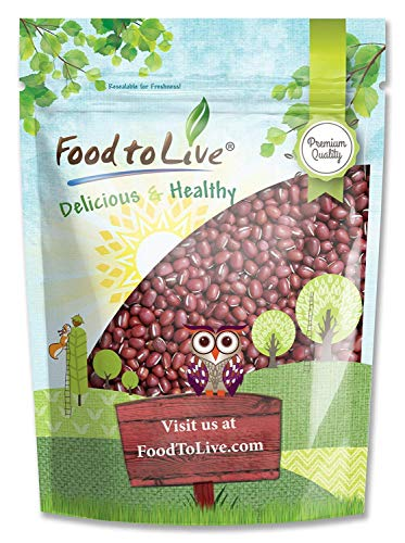 Food to Live Fagioli Azuki - 1.4 Kg
