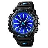 Top Brand Men Reloj de Cuarzo Impermeable Reloj Deportivo Reloj retroiluminación LED Reloj Moda Hombre Pulsera Masculino Reloj Hombre