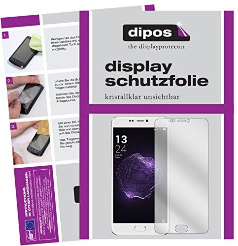 dipos I 6X Schutzfolie klar kompatibel mit Allview X4 Soul Style Folie Bildschirmschutzfolie