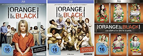 Orange is the New Black - Staffeln 1-3 [Blu-ray]