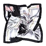 VBIGER Pañuelo de Seda para Mujer, Pañuelos Bandanas, Cabeza Cuello Bufanda
