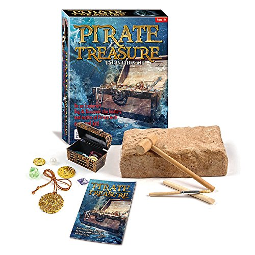 Pirate Treasure Chest Dig Excavation Kit