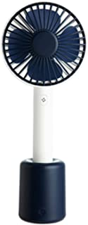 Table Fan Handheld Usb Fan Shaking Head Table Fan Portable Personal Fan Mini Silent Four-leaf Mini Fan Desktop Fan (Color ...