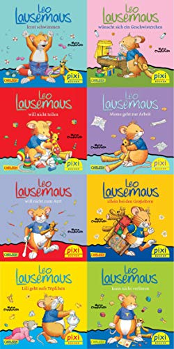 Pixi-Box 219: Leo Lausemaus (8x8 Exemplare)