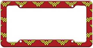 wonder woman license plate frame