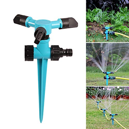 Yardwe Arroseur de Jardin Automatique /à 360 degr/és pour arrosage de pelouse
