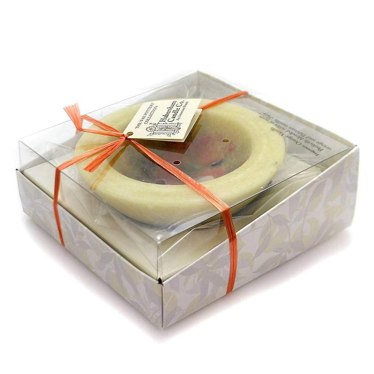 予感若者ロシアHabersham Candles ORANGE VANILLA VESSEL Wax Flameless Fragrance Wax Fgwxpt0296