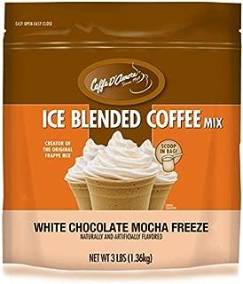 DaVinci Blended Ice Coffee Mix, White Chocolate Mocha Freeze, 3 Pound Bag