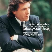 Lieder from Des Knaben Wunderhorn by Thomas Hampson (2006-07-18)