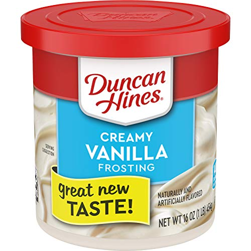 Duncan Hines Creamy Vanilla Frosting, 16 OZ