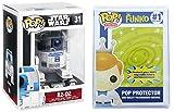 Funko Pop: Movies: Star Wars - R2-D2 Collectible Figure + FUNKO PROTECTIVE CASE