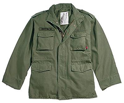 ROTHCO Vintage M-65 Field Jackets, 2XL, Olive Drab